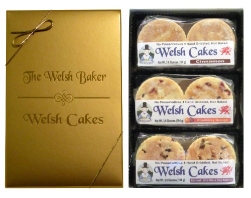 Welsh Cake Three Flavor Gourmet Gift Box
