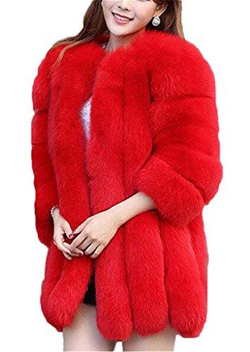 Tailloday - Abrigo - para mujer Rosso