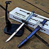 8'' Stainless Steel Japanese Samurai Sword Letter Opener Ninja Katana Scabbard