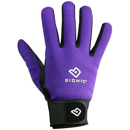 Bionic Women's Blooms Gardening Gloves, Purple, Large