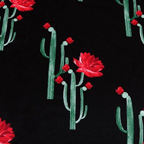 ... DAY8 chemise femme soiree Cactus blouse femme grande taille chic  manteau femme fashion Printemps t- 3784ea0583b7