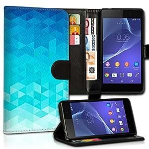 Wallet Wicostar–Funda Case Funda Carcasa con diseño para HTC One A9–Diseño Flip mvd41