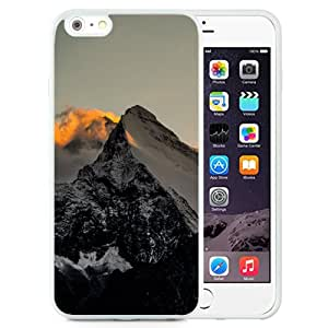 NEW Unique Custom Designed iPhone 6 Plus 5.5 Inch Phone Case With Himalaya Mountains Sunset Fire_White Phone Case