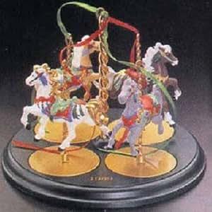 Amazon.com: Display Stand Christmas Carousel Horse Series ...