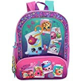Shopkins Cordura Backpack, Blue/Pink, 16