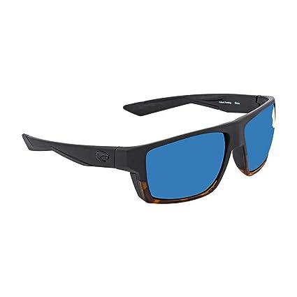 c9502b8151 Costa Del Mar Costa Del Mar BLK181OBMP Bloke Blue Mirror 580P Matte  Black Shiny Tortoise