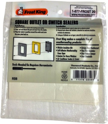 Frost King RS6H Rectangular Outlet Sealers - Rectangular Outlet