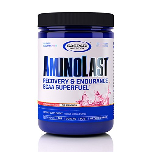 Gaspari Nutrition AminoLast Kiwi Strawberry 30 Servings, 14.8 oz. (420...