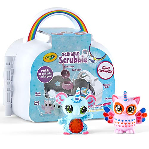 Crayola Scribble Scrubbie Cloud Playset, Toy for Kids, Gift, Ages 3, 4, 5, 6