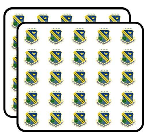 US Air Force Ira C. Eaker Center Professional Development Vinyl Transfer Decal Military Veteran Served 50 Pack Sticker for Scrapbooking, Calendars, Arts, Album, Bullet Journals and More 1