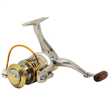 Wallfire Metal Spinning Fishing Reel 8BB 5.2: 1 Fishing Tackle ...
