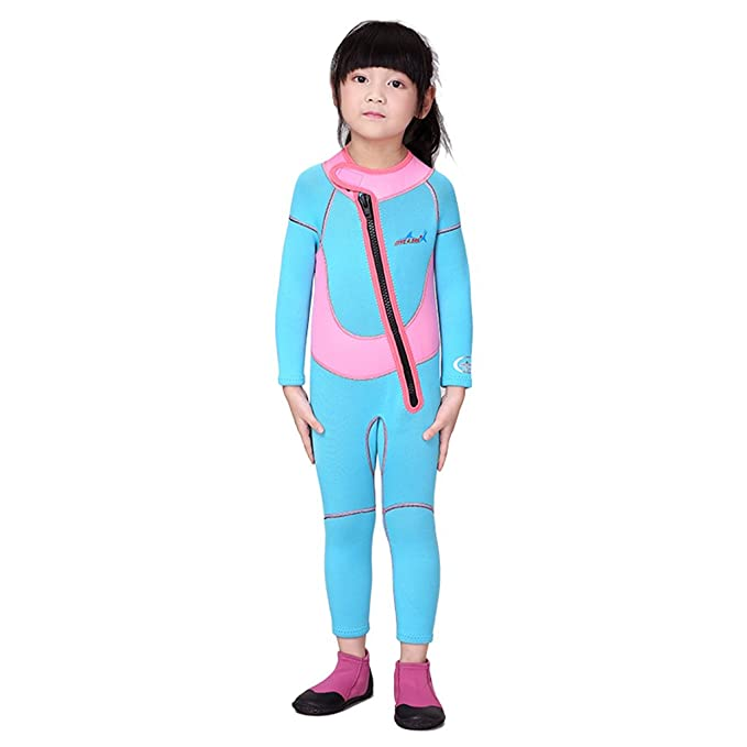 Amazon.com  MonkeyJack Kids Spring Suit Wetsuit Long Sleeve 2.5mm Children  Diving Training Jumpsuit XS S M L XL XXL  Sports   Outdoors b106a77a1