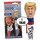 OUR FRIENDLY FOREST New Donald Trump 2020 Talking Pen, 10 New President Trump Sayings, Trump's Real Voice, Just Click & Listen, Funny Gifts for Democrats or Republicans