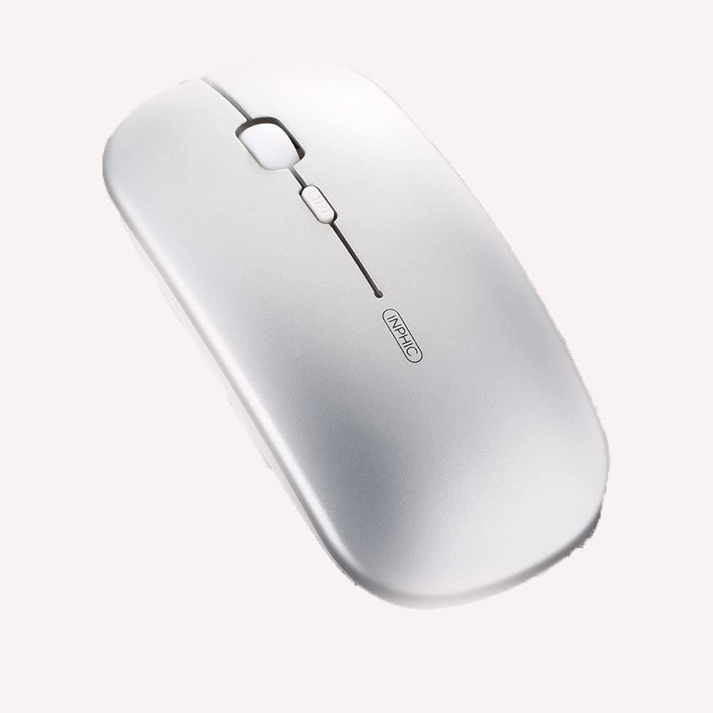 DULPLAY Wireless mouse,2.4G portable optical,Slim With usb nano receiver 3 buttons For notebook,Pc,Laptop,Computer laptop Office Games-F 11x6x2cm 4x2x1inch