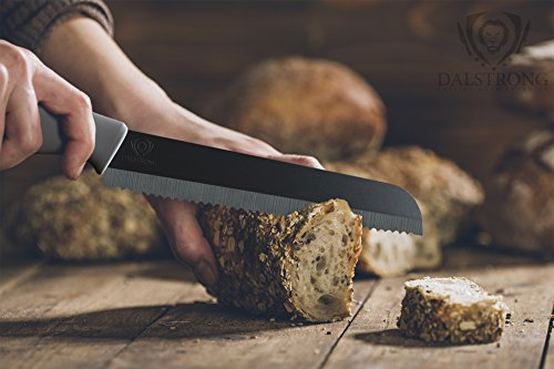 DALSTRONG Bread Knife - Barracuda Blade - Serrated Ceramic - 8'