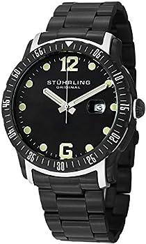 Stuhrling Original Men's Swiss Quartz Bracelet Watch