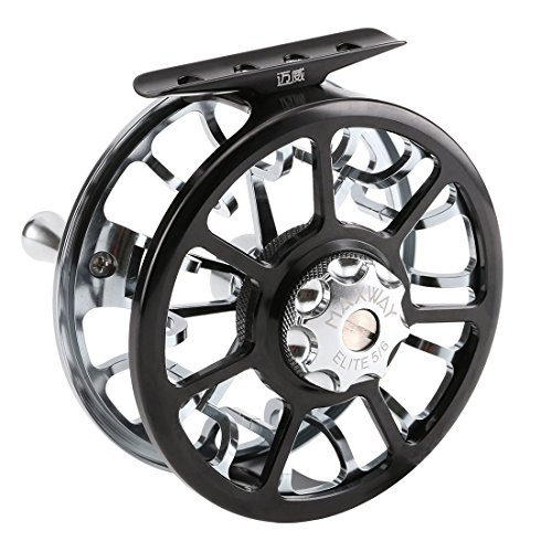 SeaKnight Maxway Elite Fly Reels 3BB 137g/4.8oz 7003-T6 Aluminum Alloy Full Metal 5/6# Fly Fishing Ree with Bag