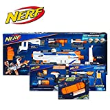 NERF Modulus Regulator Blaster and Upgrade Kits Bundle Deal 2019 -- Dart-Firing Blaster, Customizing Accessories, Darts