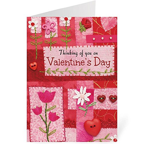 Faith Valentine Greeting Cards - Set of 8 Cards