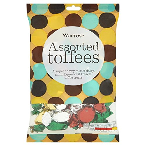 Dreamy Chocolate Mint - Original Waitrose Assorted Toffees Imported From The UK England The Best Of British Toffee
