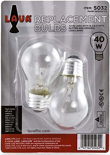 Lava Lamp Replacement Bulb 40 Watt Replacement Bulb Is For 16 3 Or 17