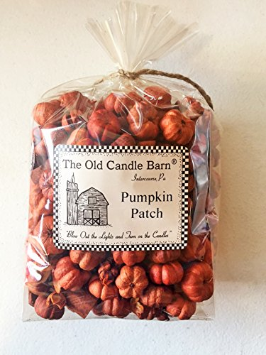 Pumpkin Patch 4 Cup Bag - Putka Pods Mini Pumpkins with Mini Cinnamon Sticks - Potpourri or Decoration - Made In The USA