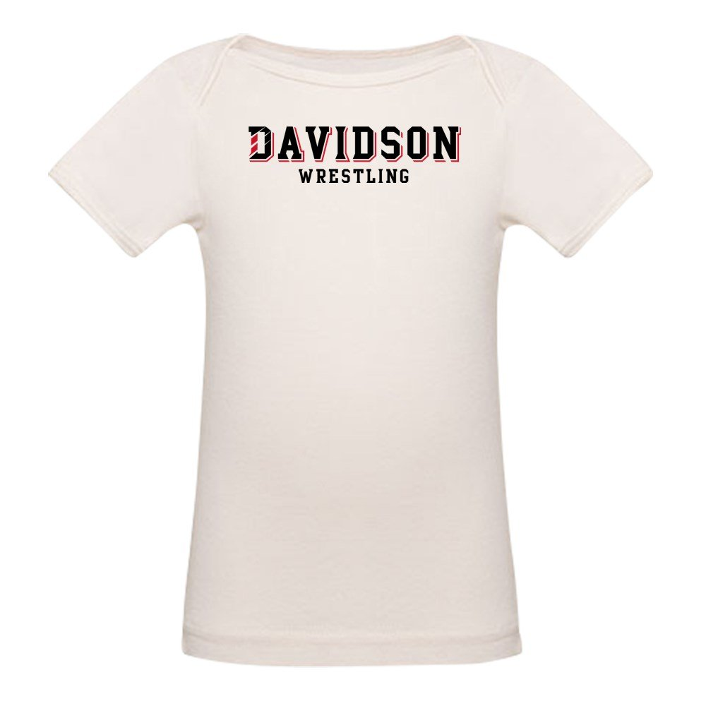 CafePress Davidson Wrestling - Organic Cotton Baby T-Shirt by CafePress