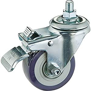 "3"" Casters, Total-Lock Swivel (Stem Mount)"
