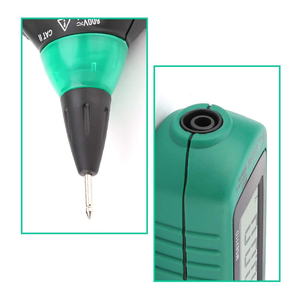 Multimeter Stift Walfront MS8211D tragbares LCD-Display Multimeter mit Digitalstift Auto Range AC//DC Spannung ohne Kontakt Stromwiderstand Diode Konnektivit/ät Rivelator Tester