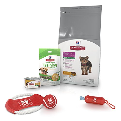 (Hill'S Science Diet Puppy Food Bundle, Small & Toy Breed Puppy Starter Kit With Puppy Treats And Toy Gifts)