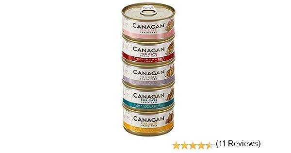 Canagan - Juego de 12 latas para gatos: Amazon.es: Productos para ...