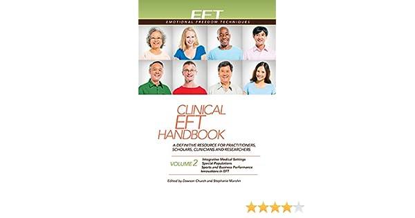 clinical eft h andbook volume 2 marohn stephanie church dawson