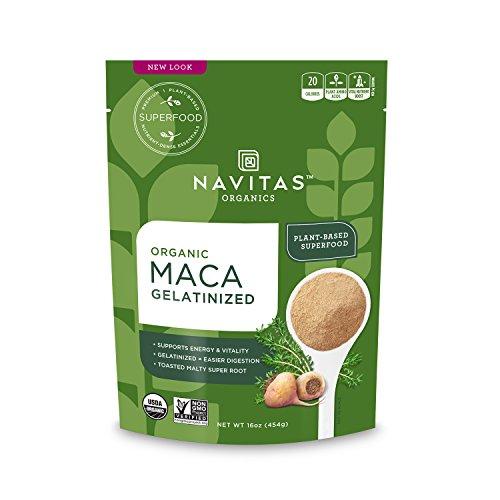 Navitas Organics Maca Gelatinized Powder, 16oz. Pouch
