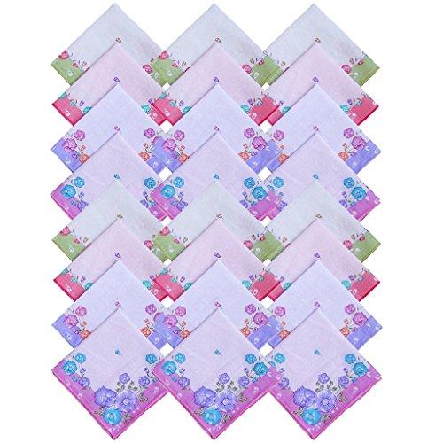S4S Cotton Women's Handkerchief (Pack of 24)