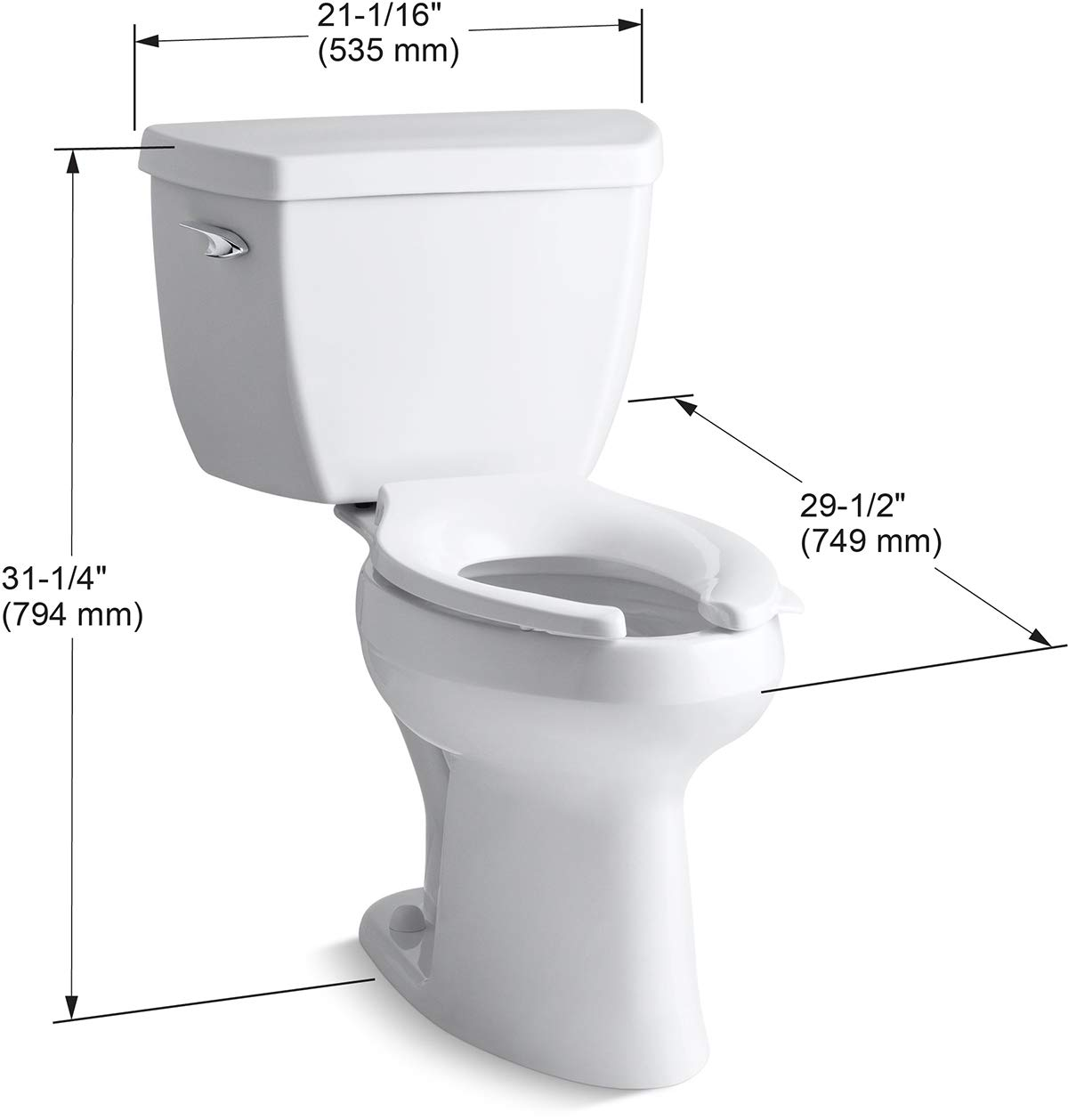 Best Toilets 2020.Kohler K 3493 0 Classic Review Best Toilets 2020 Our Top
