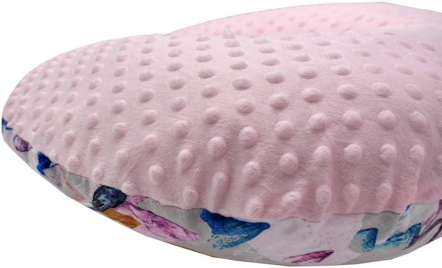 Ultra Soft Snug Fabric Pillowcase Infant Newborn Feeding Cushion Cover Aimik Nursing Pillow Cover A Stretchy Breastfeeding Pillow Slipcover Nursing Pillow Slipcover