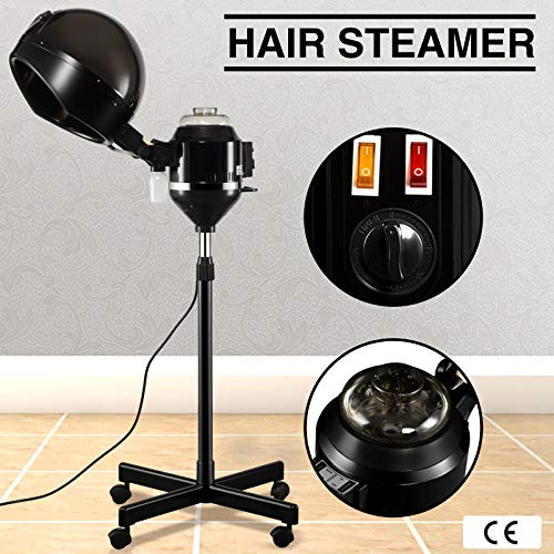 Artist Hand Professional Hair Steamer Hairdressing Care Hood Color Processor Beauty Salon (And Hair Steamer Dryer)