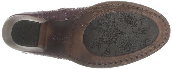 Neosens Verduzzo 293 - Botines planos, talla: 36, color: Rojo - Rouge (Avestruz Mora): Amazon.es: Zapatos y complementos