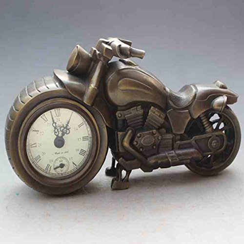 Originality locomotive copper watch Mechanics Desk clock Home decoration by Sunmir