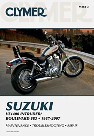 Clymer Suzuki Twins Motorcycle Repair Manual M482-3
