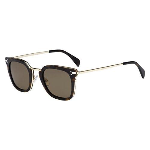 7c0e3e927c7 Sunglasses Celine 41402 S 0ANT Dark Havana Gold   X7 brown lens  Amazon.ca   Shoes   Handbags