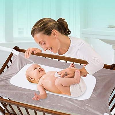 Soft Simple Breathable /& Strong Baby Crib Hammock 4 Colors Cartoon Safety Bed Sleeping Hammock Adjustable Length Buckles Coffee 96 x 58cm Infant Hammock