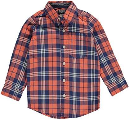 OshKosh B Gosh - Camisa - para Niño Rosa Coral: Amazon.es: Ropa y accesorios