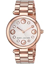 Marc Jacobs Womens Dotty Quartz Stainless Steel Casual Watch, Color:Rose Gold-Toned (Model: MJ3519)