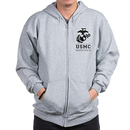 Usmc Zipper Sweatshirts - 3