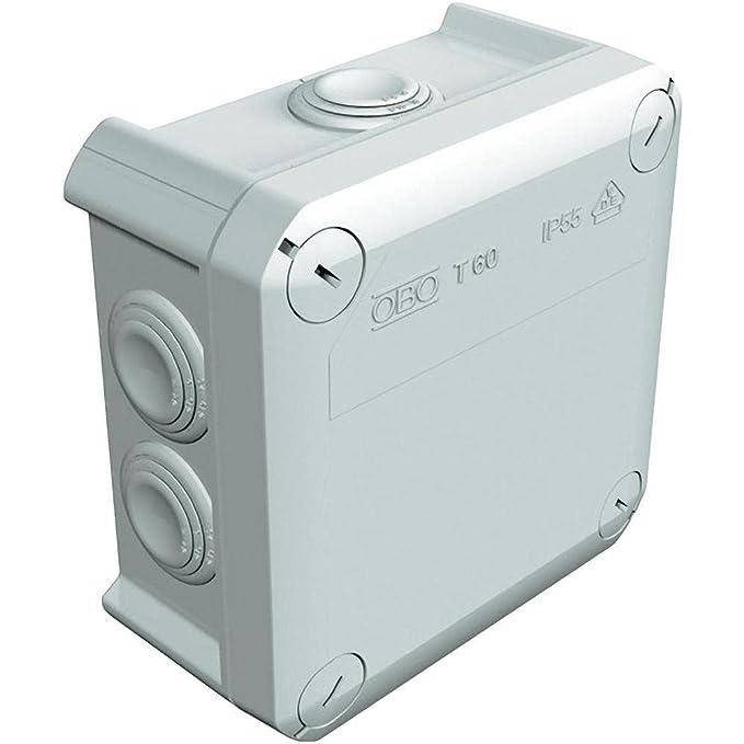 Caja estanca de derivación c/conos 114X114X57 ref: T-60: Amazon.es: Electrónica