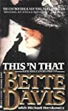 This 'n' That, Bette Davis and Michael Herskowitz, 0425106241