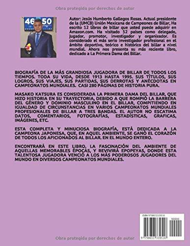 BIOGRAFIA MASAKO KATSURA: LA PRIMERA DAMA DEL BILLAR: Amazon.es ...