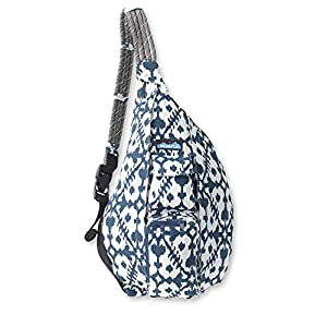 KAVU Rope Bag, Blue Blot, One Size
