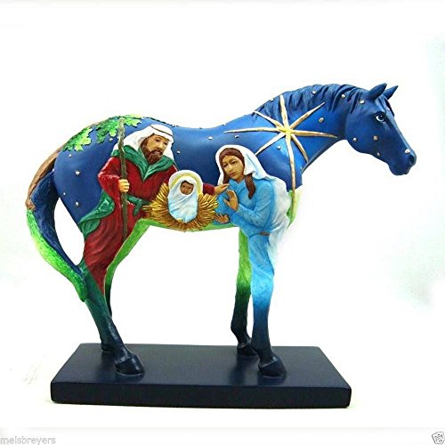 2013 Enesco The Trail of Painted Ponies *Faith* 1E Low Numbers Biblical Telling of the Birth of Jesus